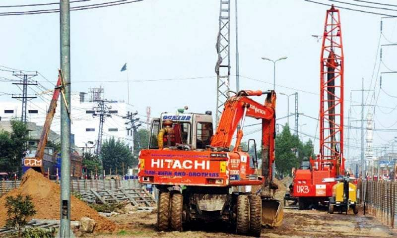 Two laborers killed in accident at Lahore metro train project