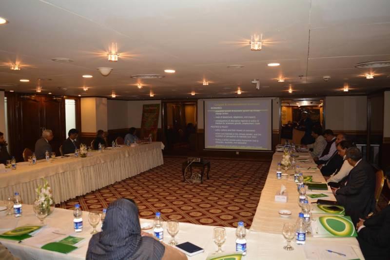 LEAD Pakistan organises workshop on climate change