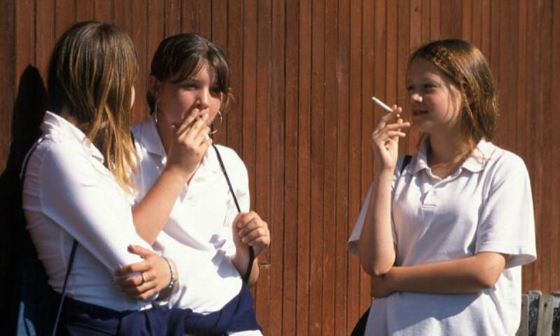'Allow SMOKING in schools to avoid TERROR attacks'