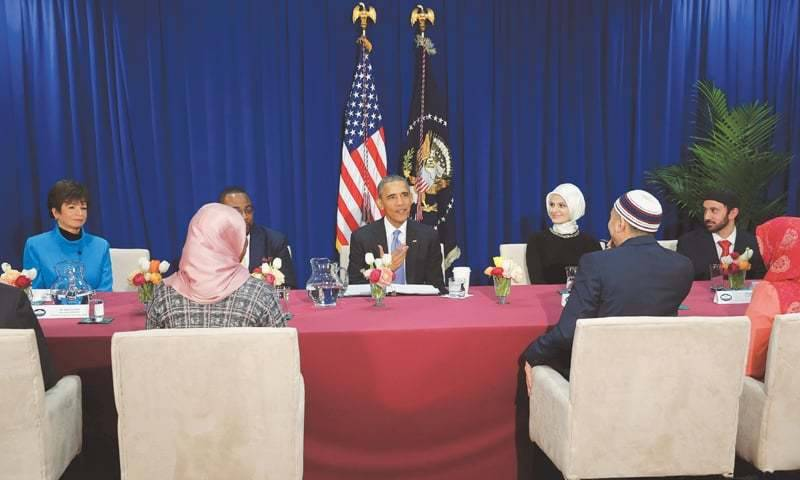 Attack on one faith is attack on all faiths: Obama during first mosque visit