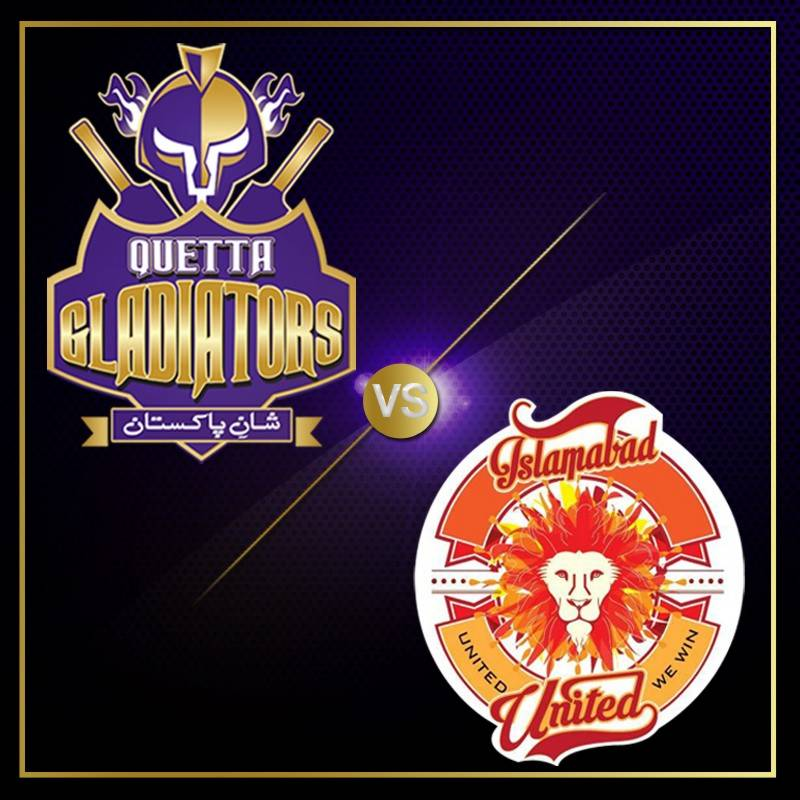 #HBLPSL: Islamabad United face off Quetta Gladiators in opening match of Pakistan Super League
