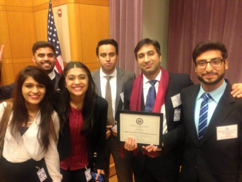 P2P: ‎#ChallengingExtremism: LUMS team wins US competition