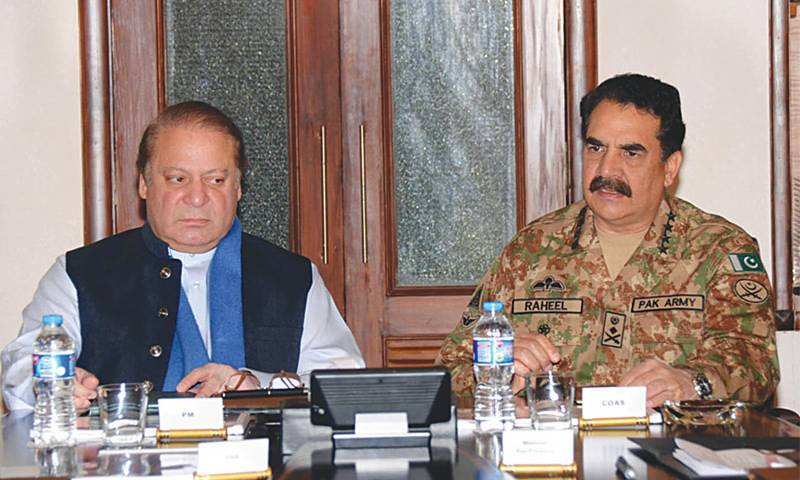 PM Nawaz, COAS Raheel review national security at ISI headquarters