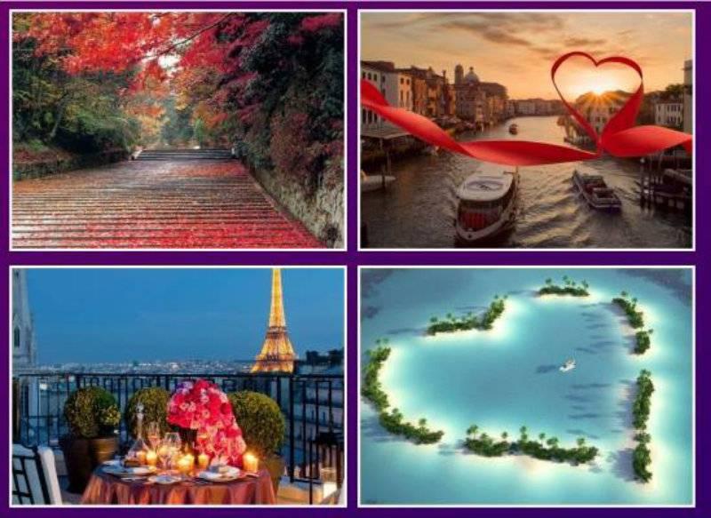 Top 10 Valentine's Day Destinations in 2016