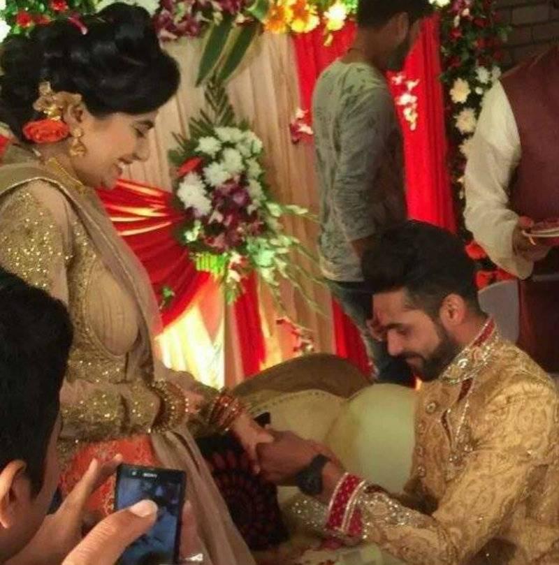 In Pics: Indian cricketer Ravindra Jadeja gets engaged to Rivaba Solanki
