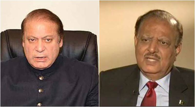 Kashmir Day: PM Nawaz, President Mamnoon vow continuous support for freedom movement