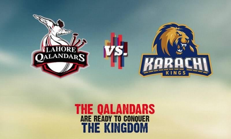 Live PSL second T20: Lahore Qalandars set 126-run target for Karachi Kings