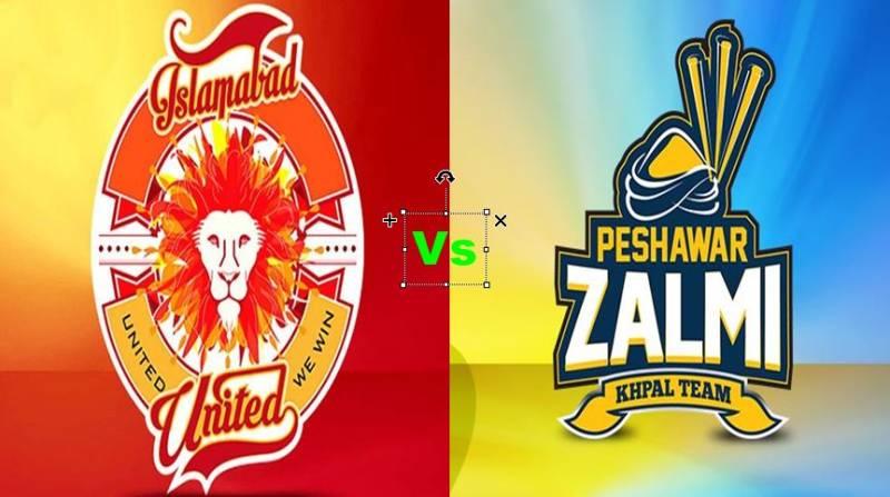 PSL LIVE 3RD T20: Peshawar Zalmi defeats Islamabad United by 24 runs