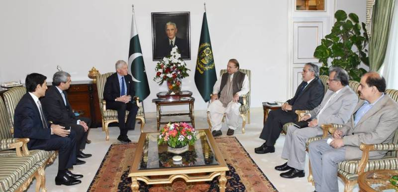 MD McKinsey Dominic Barton calls on PM Nawaz