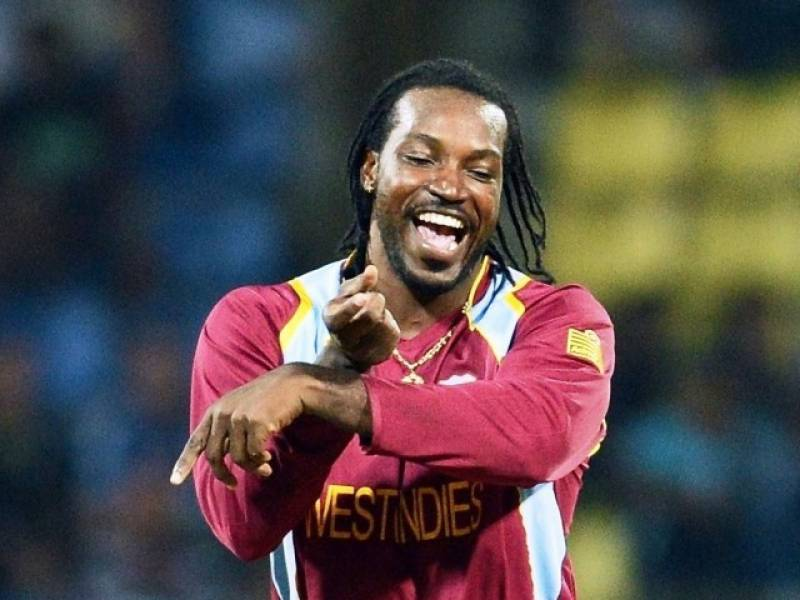 Meet Chris Gayle's Valentine's Day date right here