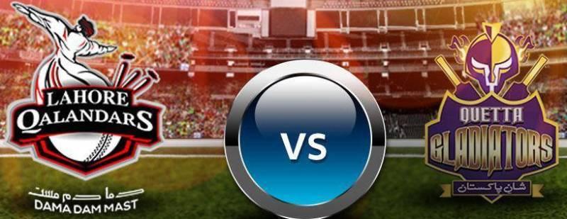 PSL T20 Live Streaming And Live Score: Lahore Qalandars vs Quetta Gladiators