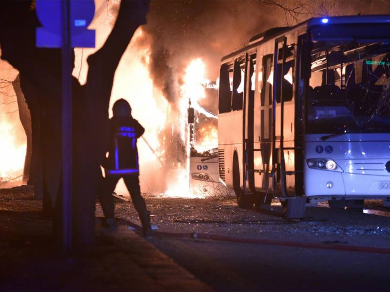 At least 28 killed in Turkish capital explosion