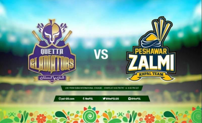 #HBLPSL: Quetta Gladiators, Peshawar Zalmi to clash in first playoff on Friday