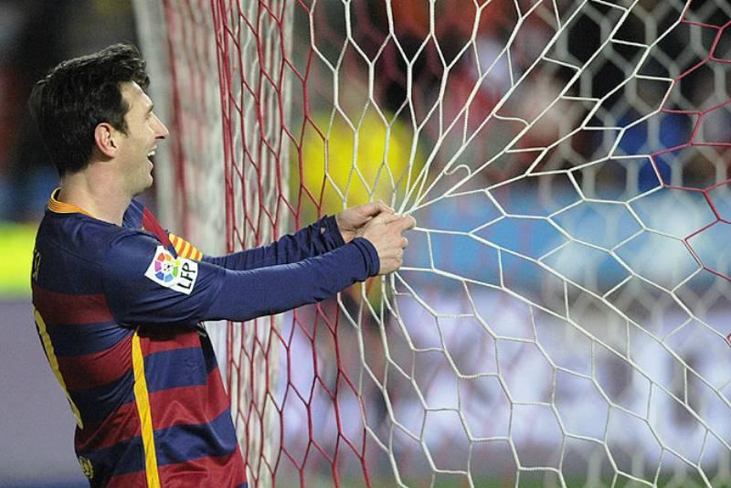 Lionel Messi makes history with 300 La Liga goals