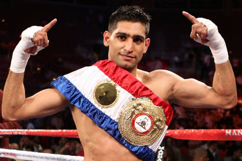 Mayweather was too scared to fight with me: Amir Khan