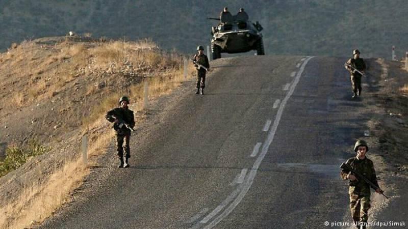 Seven dead as blast hits military convoy in Turkey's southeastern region