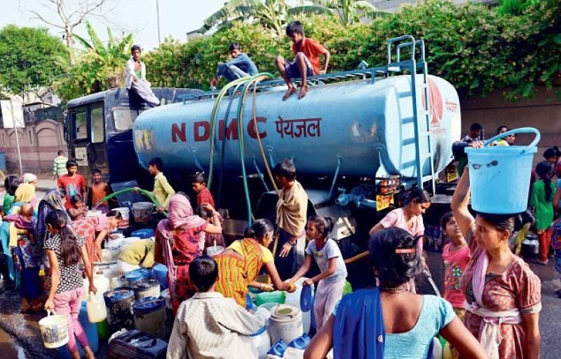 All schools closed after no water left in New Delhi