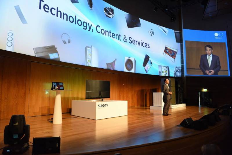 Samsung pitches real innovations at 2016 MENA Forum