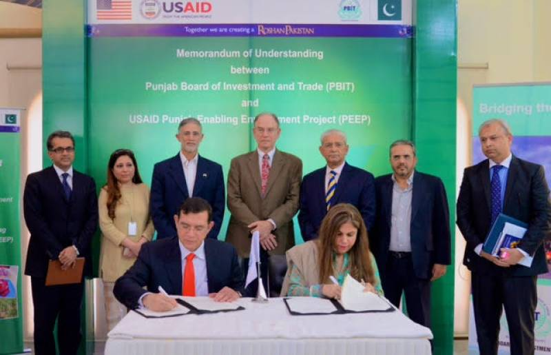 USAID sign Memorandum of Understanding with PBIT to promote investment in agriculture