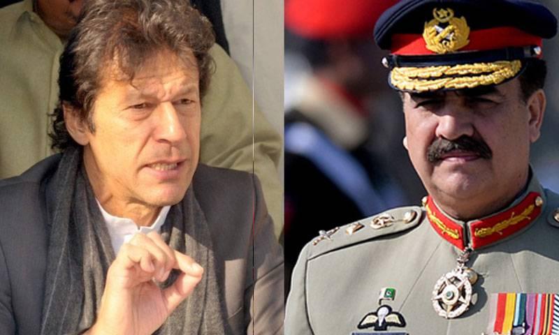 #ThankYouRaheelSharif: Imran Khan is also thankful to Gen Raheel Sharif