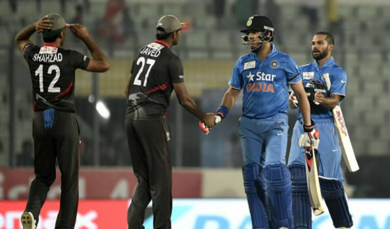 Asia Cup 2016: India thrash UAE by nine wickets