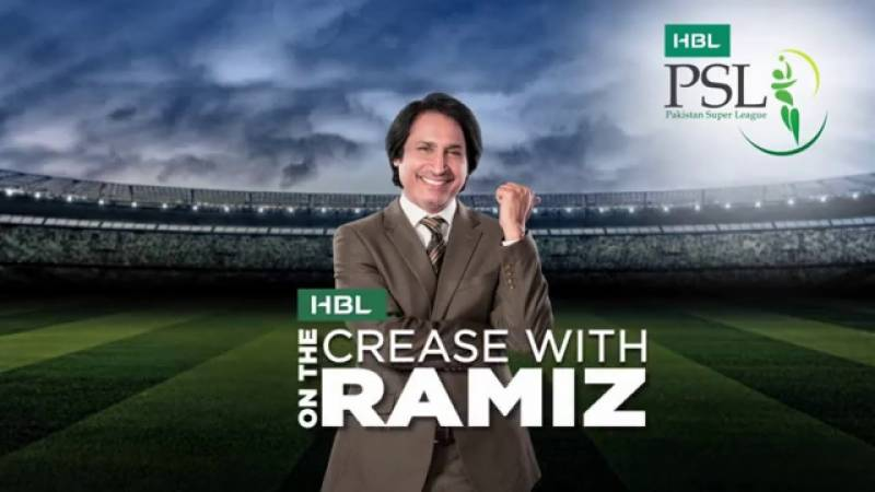 The HBLPSL Crease with Ramiz!