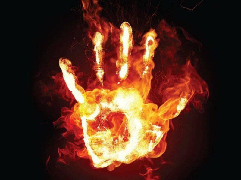 Woman set on fire 'by husband' in Kasur