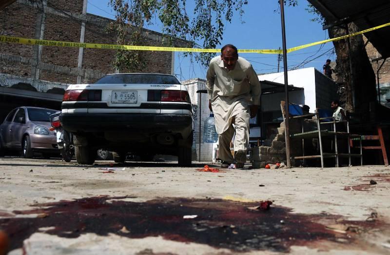 13 dead in Shabqadar suicide blast