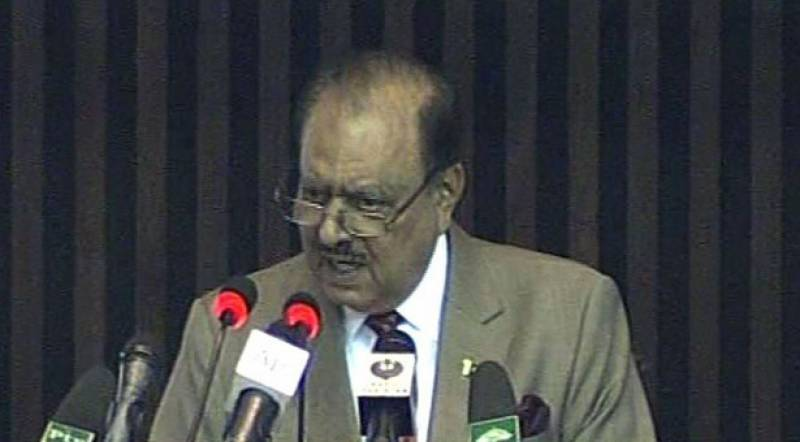 President Mamnoon calls for resolution of Palestine dispute for stability in Middle East