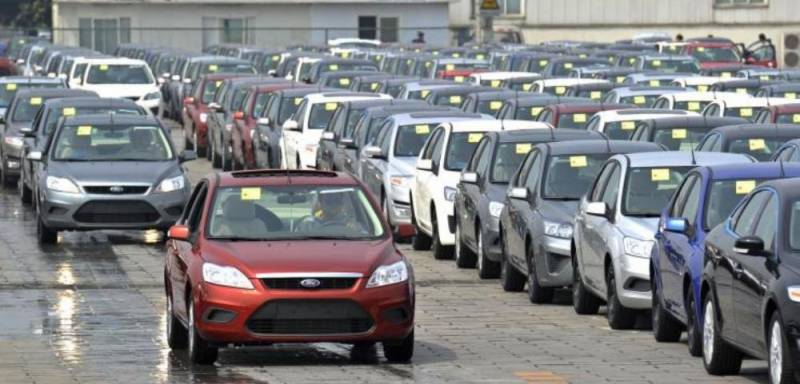 Car sales jumped by 38% to 121,934 units in 8 months