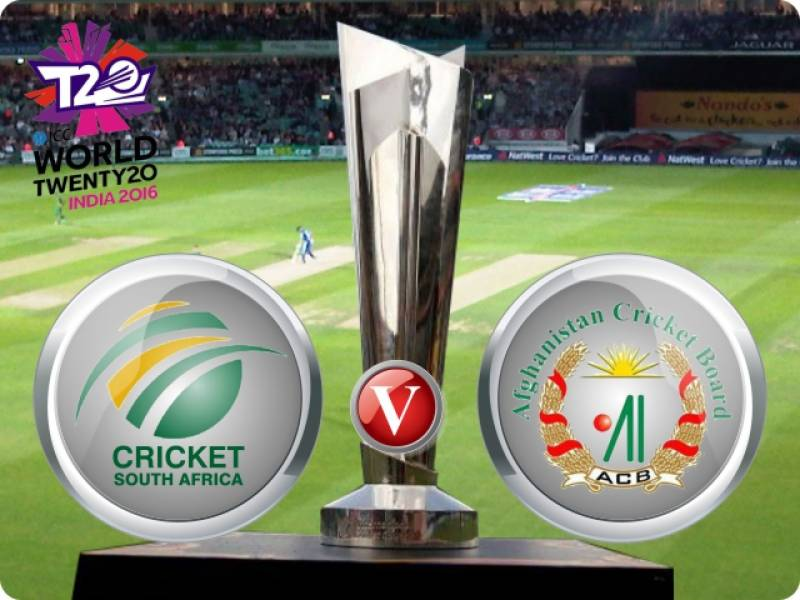 T20 World Cup 2016 - Watch Afghanistan vs South Africa Live Streaming and Live Score: SA win by 37 runs