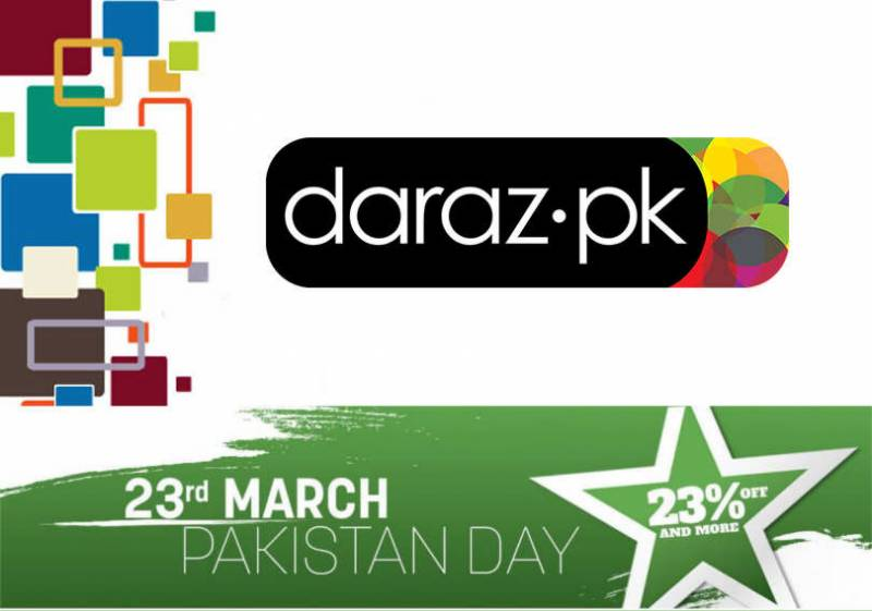 Daraz.pk will treat Pakistanis to flash sales and crazy discounts on 23rd March