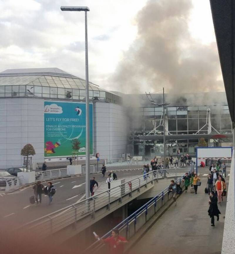 UPDATES: 27 dead as seven blasts rock Brussels airport and metro stations, over 100 injured (Videos/Pics)