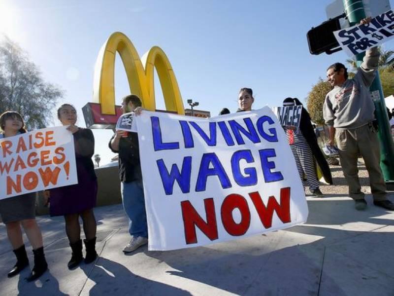 California raises minimum wage to $15 an hour
