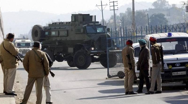 Pakistani security team visits Pathankot airbase