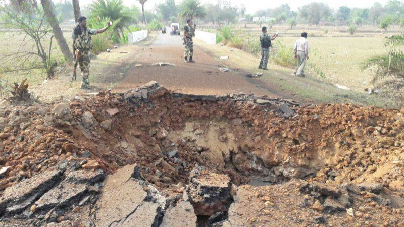 At least 7 paramilitary officials killed in Naxal attack in India