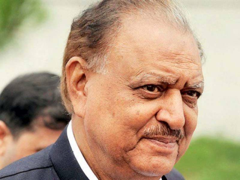 CPEC game changer for whole region, says President Mamnoon