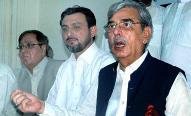 Ilyas Bilore demands Chaudhry Nisar's resignation over D-Chowk failure