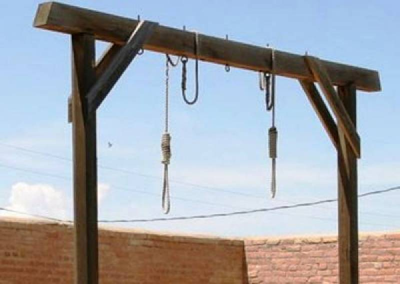 Two TTP terrorists hanged in Kohat