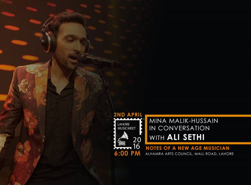 Ali Sethi set to speak at the Lahore Music Meet