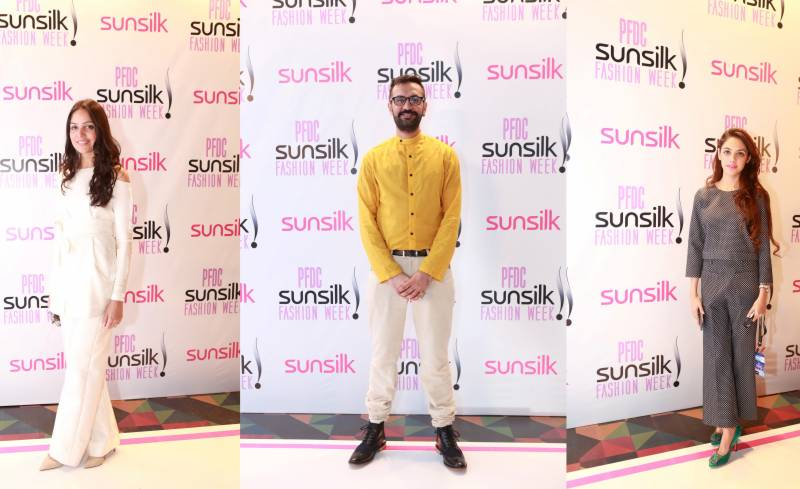 Best Dressed Red Carpet Celebrities from PFDC Sunsilk Fashion Week 2016-Day 3