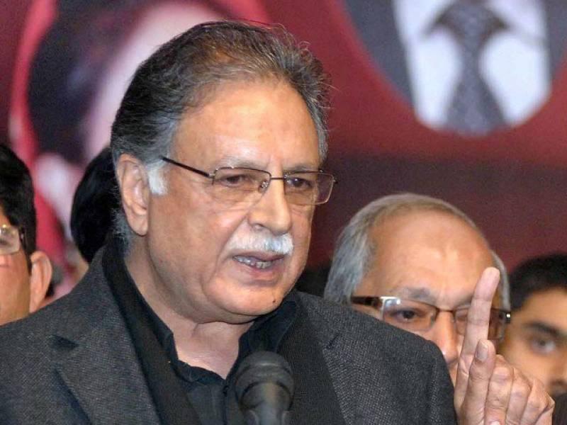 Imran Khan cannot address via PTV: Pervaiz Rashid