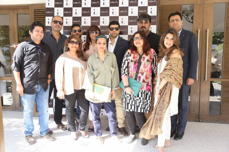 Lala Textiles hosted a lunch to celebrate the start of Fashion Pakistan Week 2016 at Café Aylanto!