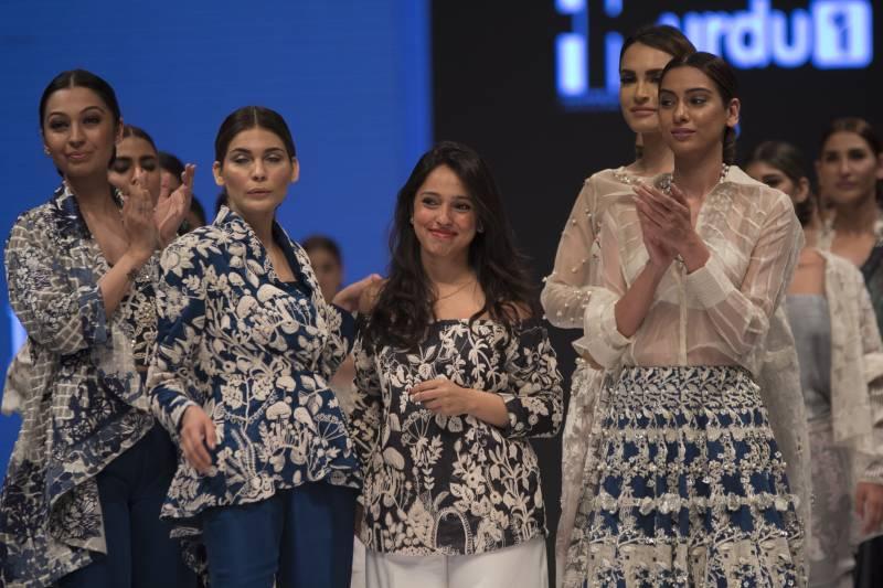 The Nida Azwer Atelier showcased luxury pret collection, 'Kirigami'at Fashion Pakistan Week 2016!