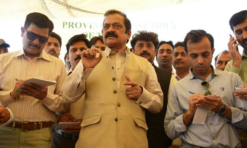 Rana Sanaullah dares Imran Khan to march on Raiwind