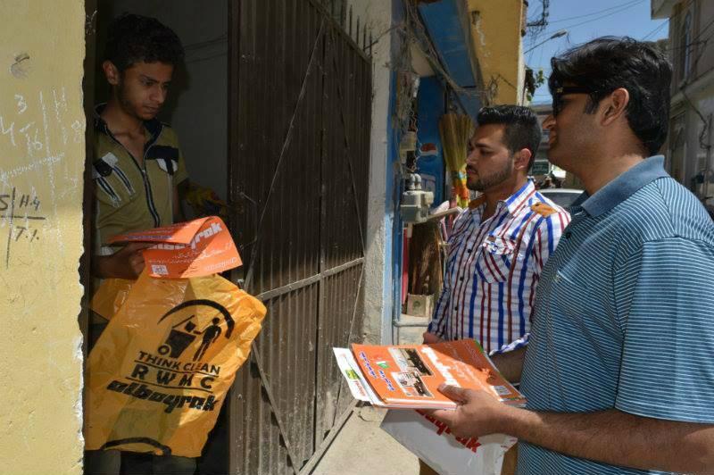 Albayrak on cleanliness awareness drive in Rawalpindi