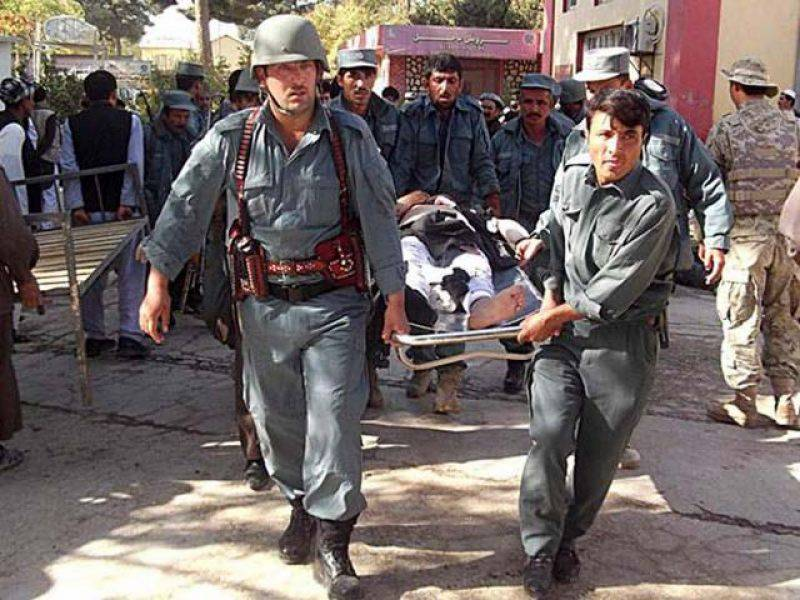 Eight killed in attack on convoy of Afghan police