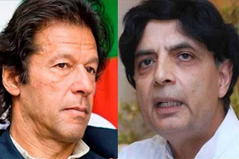 Imran, Nisar share same flight to London