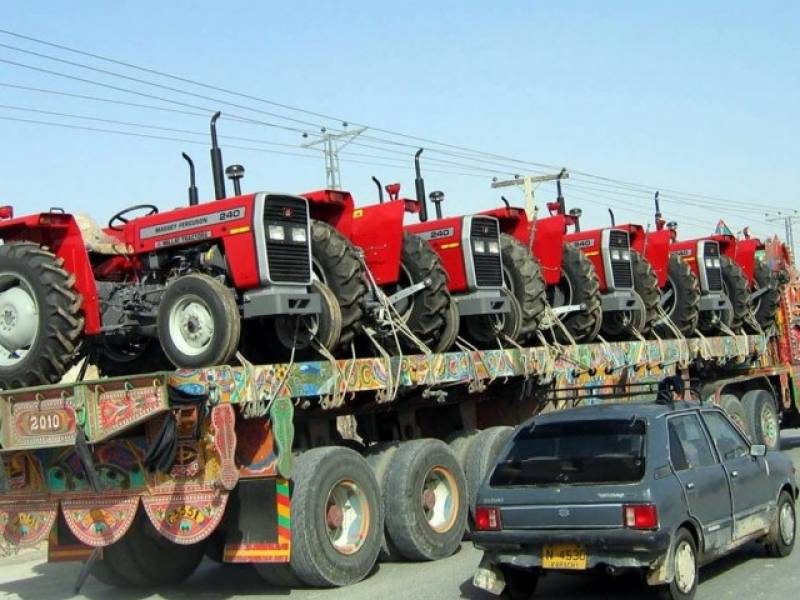 Sale of tractors falls 33.18% in July-March 2015-16