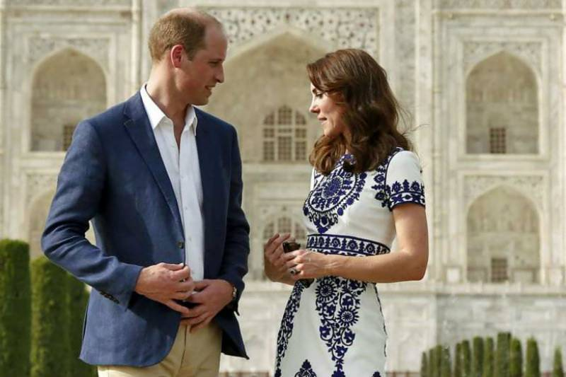 Will-Kate end India trip with Taj Mahal visit, where Diana famously posed alone
